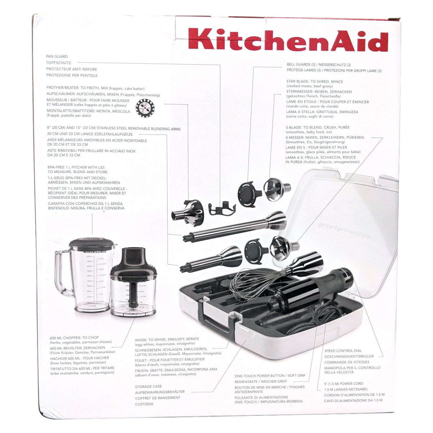 KitchenAid 5KHB2571EAC Creme
