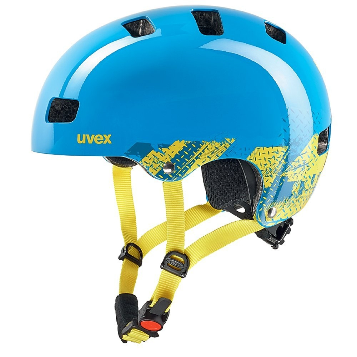 Uvex Kid 3 51-55 Blue Kinderhelm