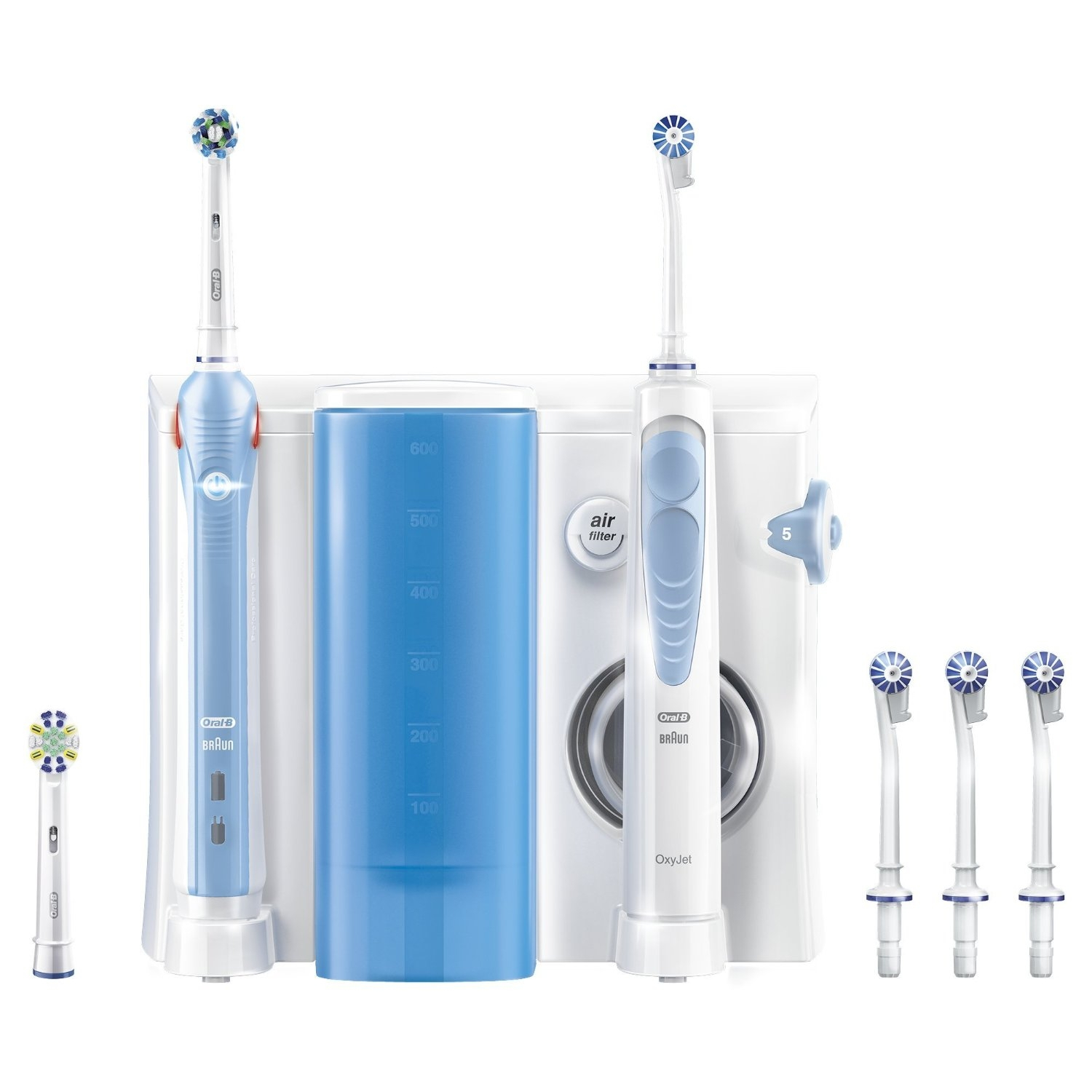 Oral-B Center 1000 Oxyjet + Pro 1000 Reinigungssystem