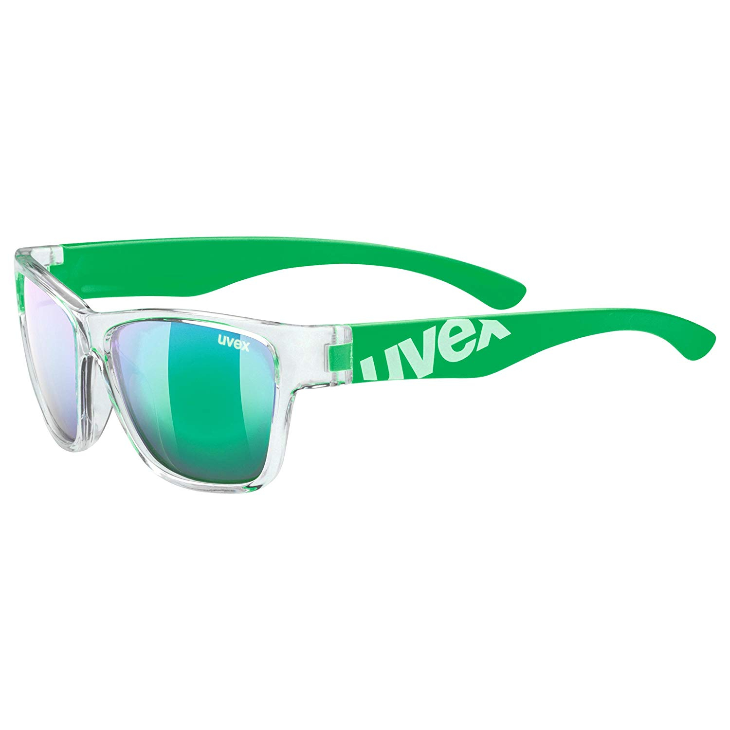 Uvex sportstyle 508 clear green / mir.green Kinder Sportbrille