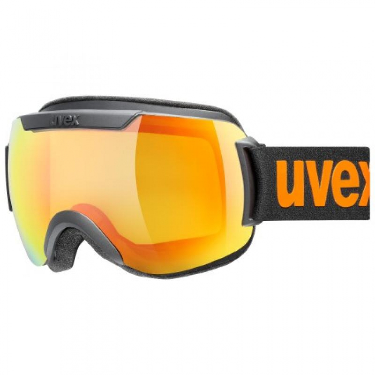 Uvex downhill 2000 CV Skibrille blk S/L orange-yellow
