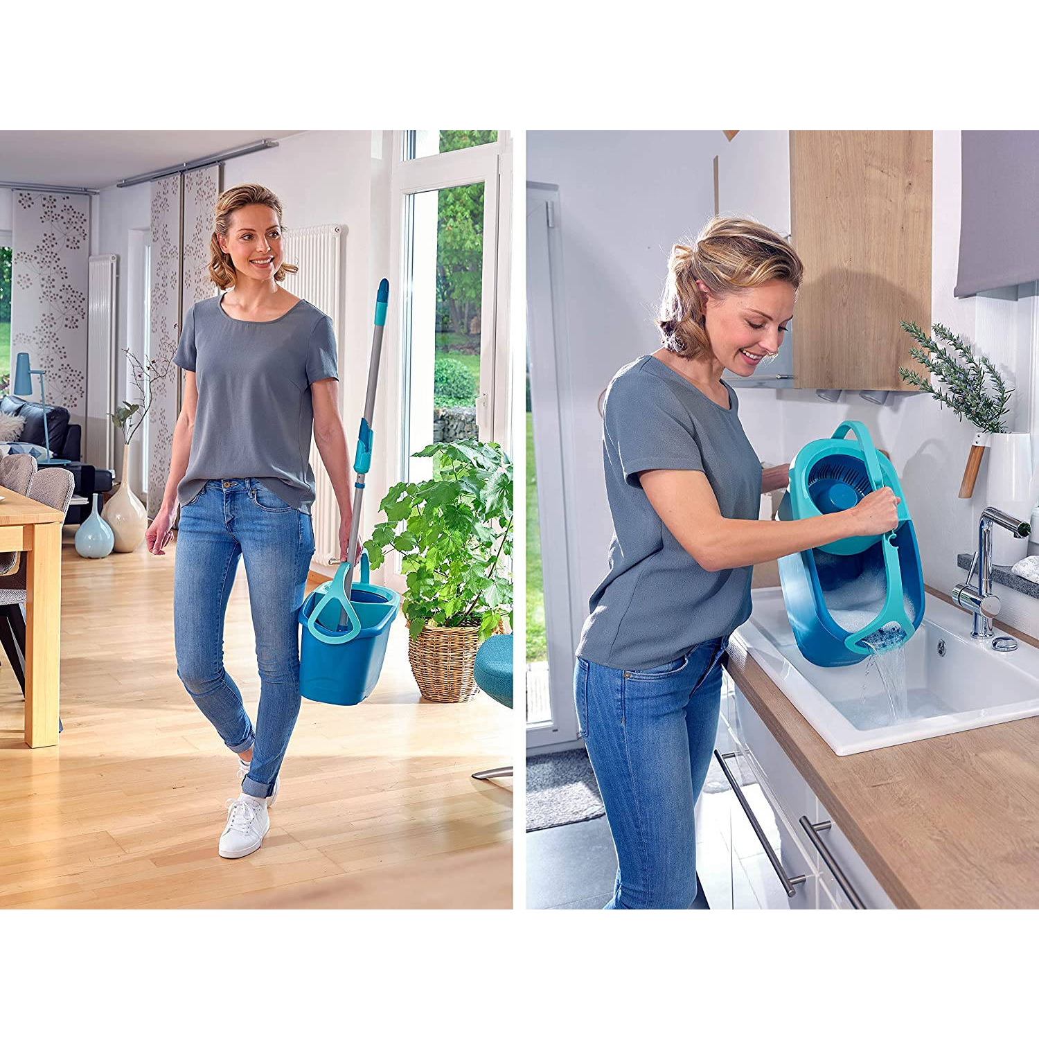 Leifheit Clean Twist Disc Mop Ergo mobile 52101