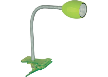 JEDI LED CLIP LIGHT Green 100lm Klemmleuchte
