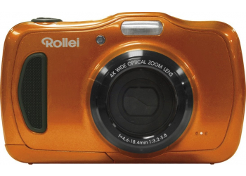 Rollei Sportsline 100 Orange Digitalkamera