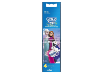 Oral-B Stages Power EB10K Frozen Power 4er Ersatzbürsten