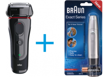 Braun Series 5 5030S Herrenrasierer Incl. Braun EN 10 Trimmer