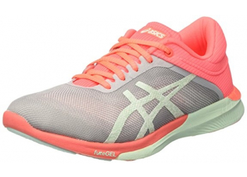 Asics FuzeX Rush Grey/Bay/Flash Cor Laufschuhe