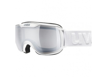 Uvex downhill 2000 S white dl/LM silver Skibrille