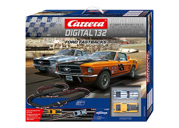 Carrera Digital 132 Ford Fastbacks 30194 Rennbahn