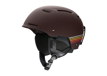 Smith Pivot matte morel sunset Skihelm