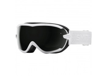 Smith Virtue white eclipse S3 blackout Skibrille