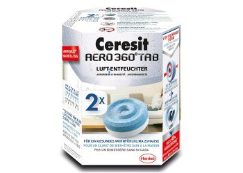 Ceresit AERO 360 PowerTABs Luftentfeuchtertabs 2in1 2er