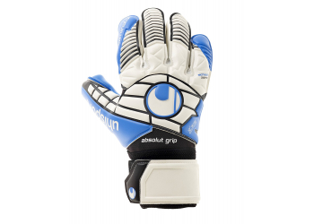 Uhlsport Eliminator Absolutgrip Hn Wht/Bl Handschuhe