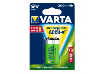 Varta 56722 E-Block 200 mAh B1 Ready Use Batterie