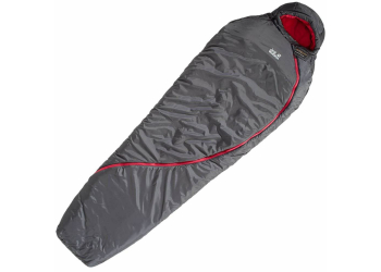 Jack Wolfskin Smoozip -7 Women dark steel Schlafsack