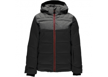 Spyder Clutch Jacket 231012 Black/polar Kinder Skijacke