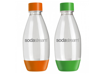 SodaStream Fuse 0,5L DUOPACK  2er Pack orange + grün