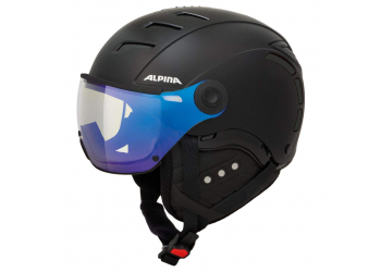 Alpina Jump 2.0 VM black matt Skihelm