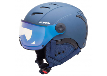 Alpina Jump 2.0 VM nightblue-Denim matt Skihelm