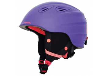 Alpina Grap 2.0 JR royal purple Kinderskihelm