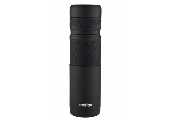Contigo Thermal Bottle matt black Thermoskanne 1200ml