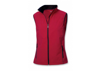 Clique Softshell Wmn Vest intense red Damenweste S