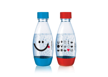 SodaStream PET-Flasche 0,5 L Duopack Kids Edition