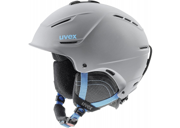 Uvex p1us 2.0 grey-blue mat Skihelm 59-62 cm
