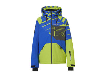 Rehall Maine-R Jr. Snowjacket Boys, Slants Lime Green, Gr. 116