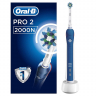 Oral-B Pro 2 2000N Cross Action blue elektrische Zahnbürste