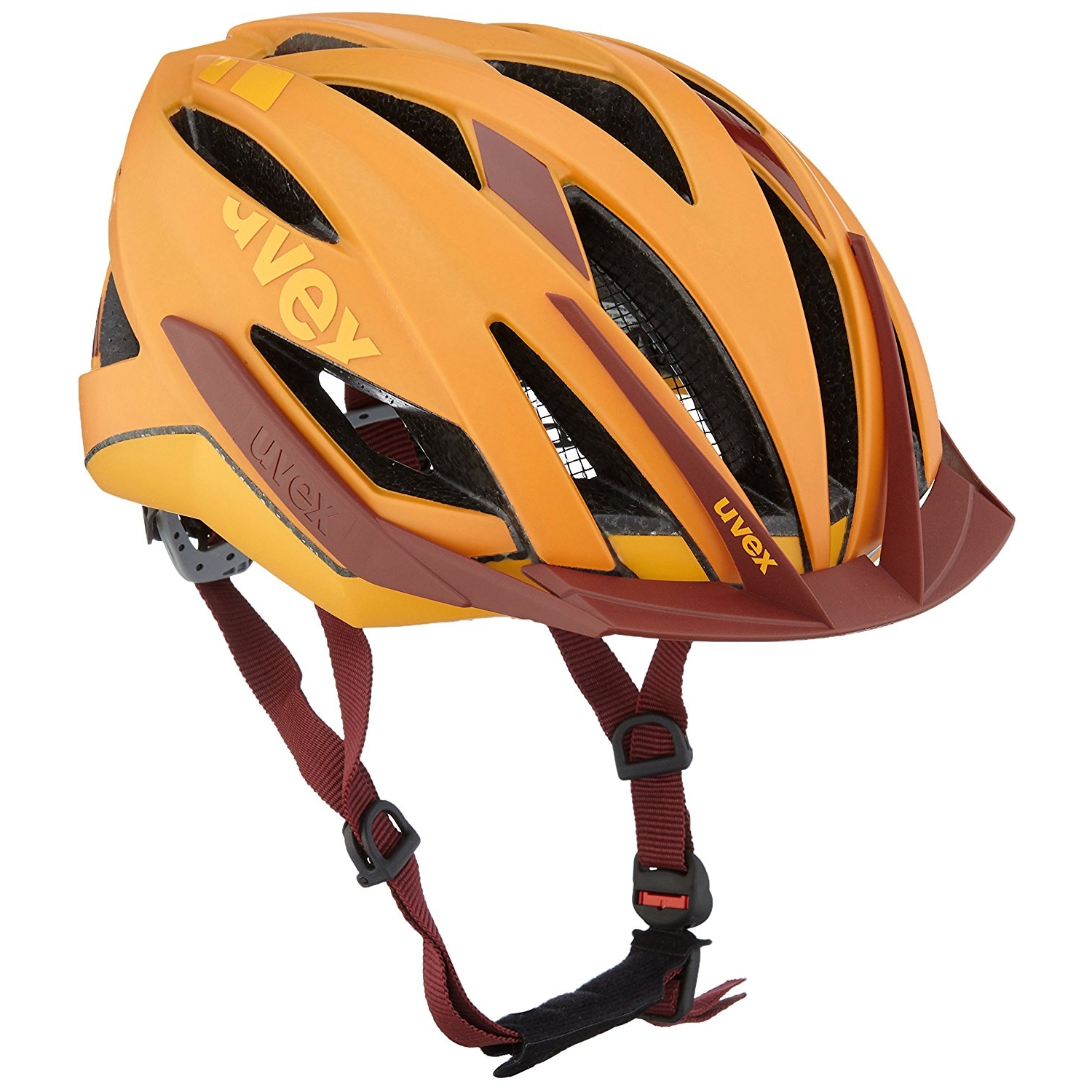 Uvex Ultra SNC Orange-Red Mat Helm 52-56 cm