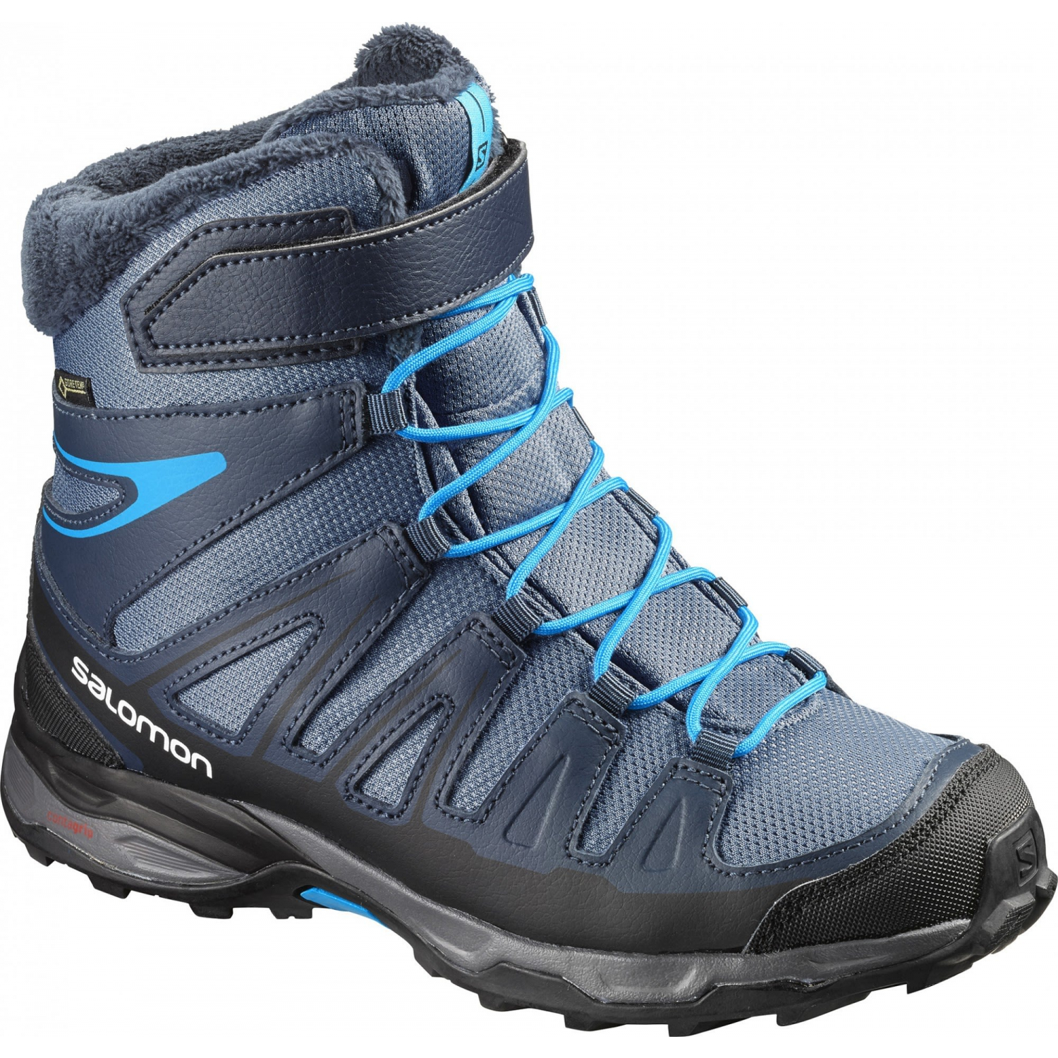 Salomon X-Ultra Winter GTX J Slateblue/Deep Kinder Outdoorschuhe EU Gr. 31