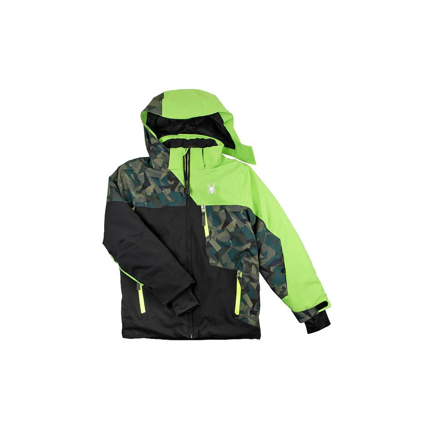 Spyder Ambrush Jacket 231013 black Kinder Skijacke Gr. 128