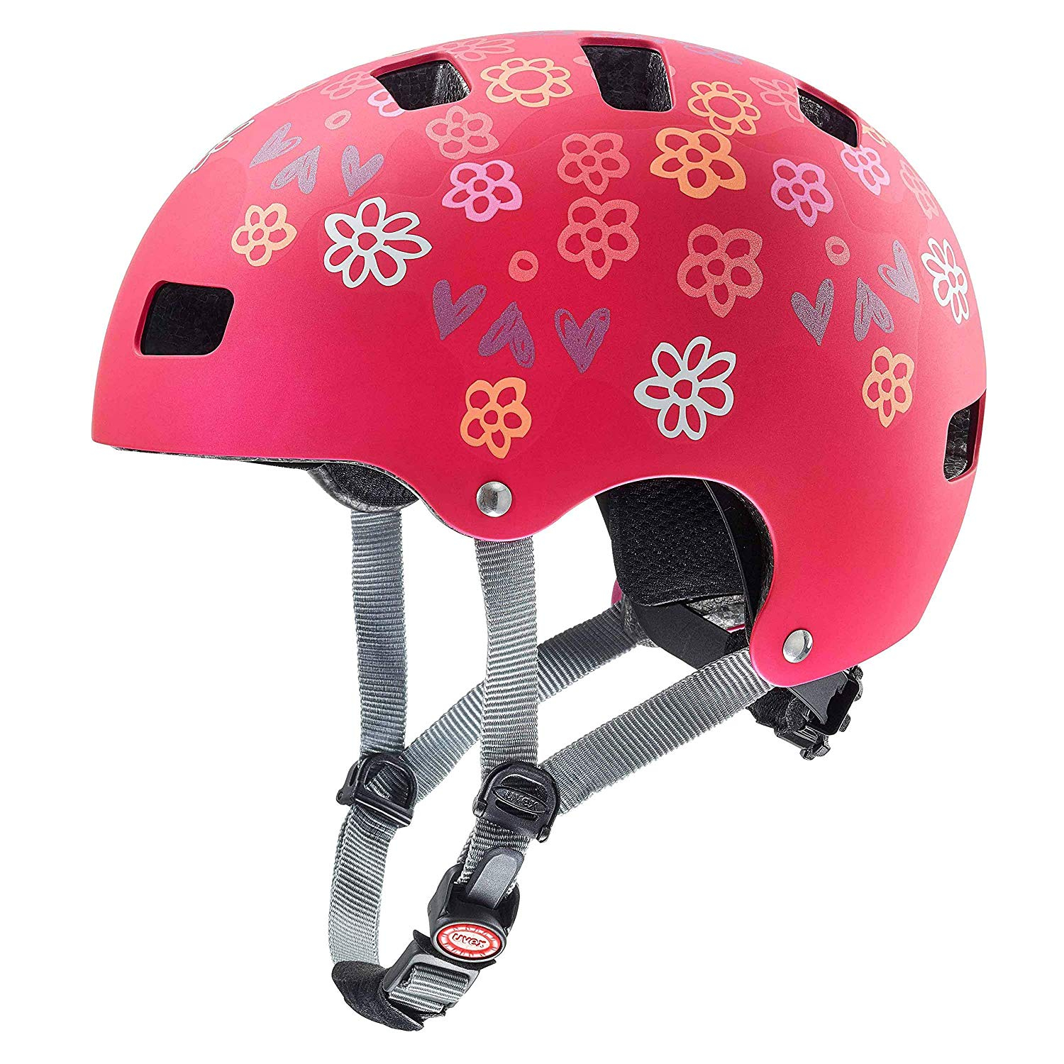 Uvex kid 3 cc dark red Kinderhelm 51-55cm