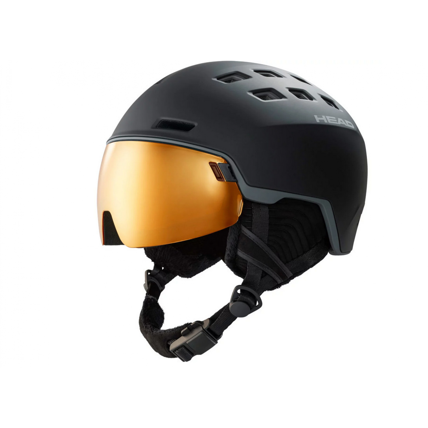 Head Radar Pola Black Skihelm 52-55cm