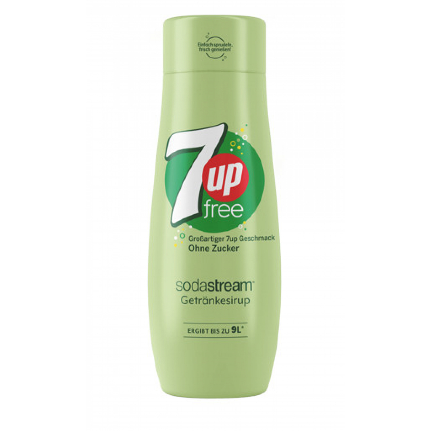 Sodastream 7 Up Diet Sirup 440 ml