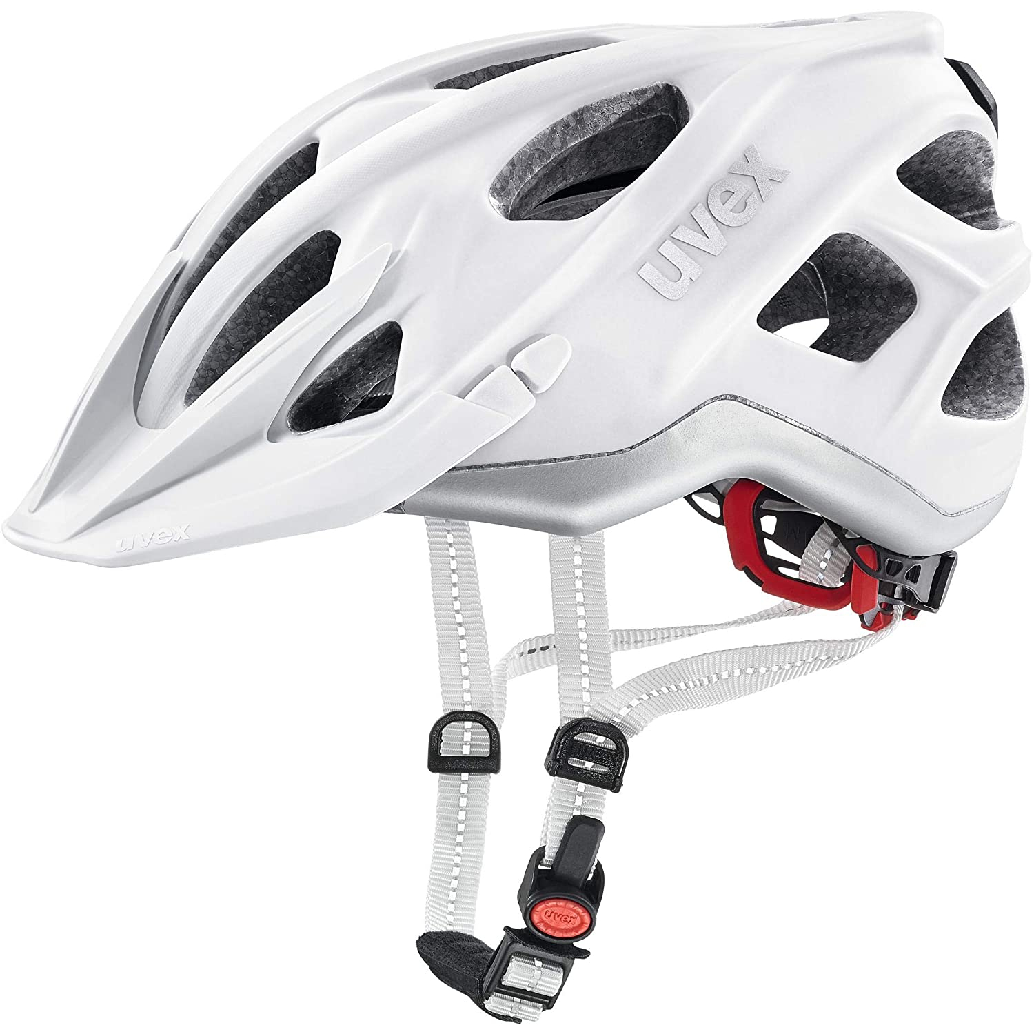 Uvex city light white mat Helm 52-57cm