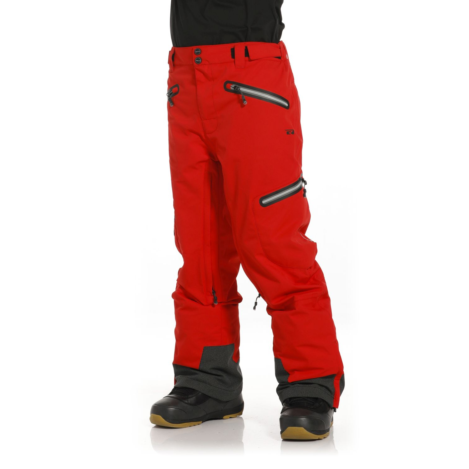 Rehall Zane-R Snowpants Mens, Flame Red, Gr. L