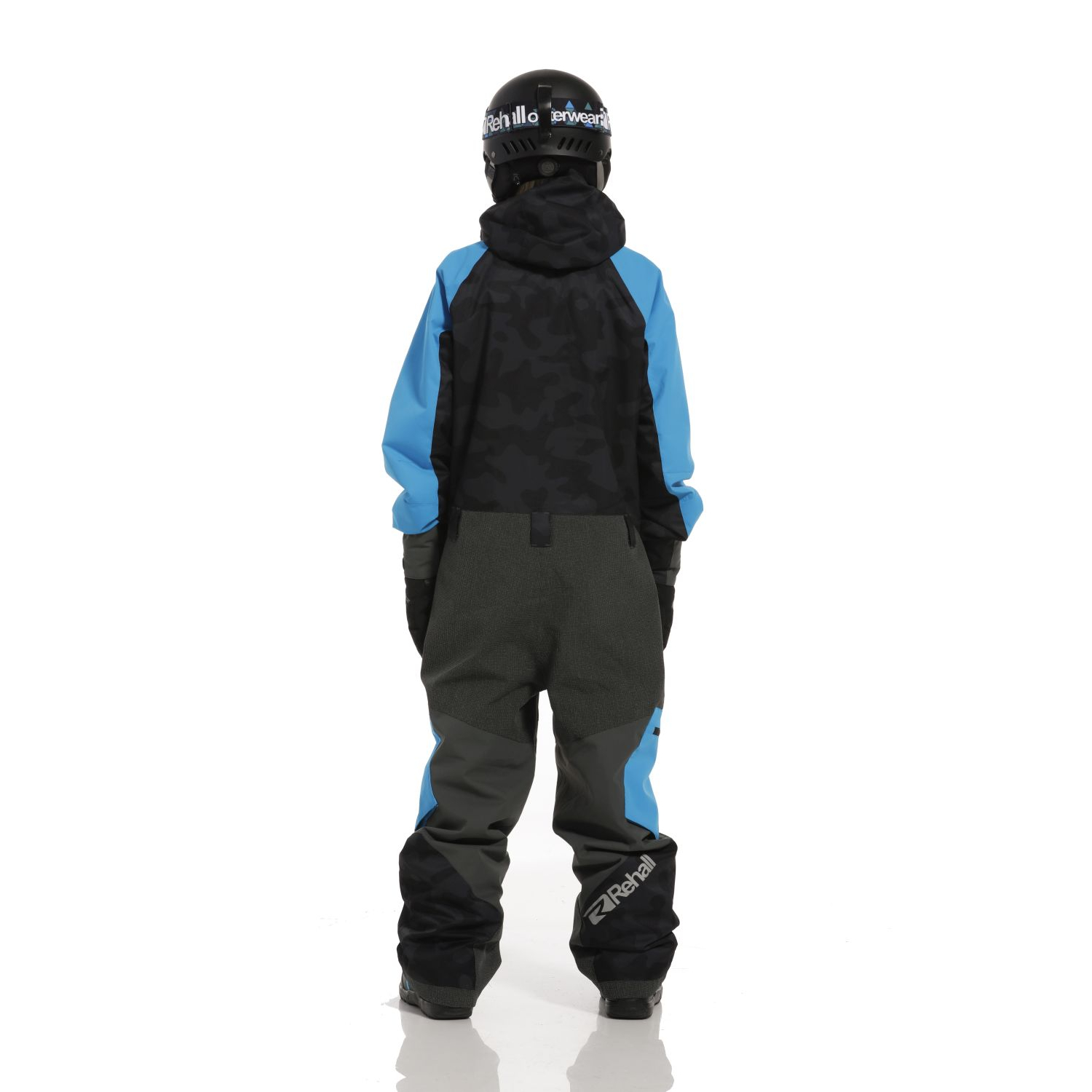 Rehall Rock-R Jr. Snowsuit Boys, Camo Black, Gr. 116