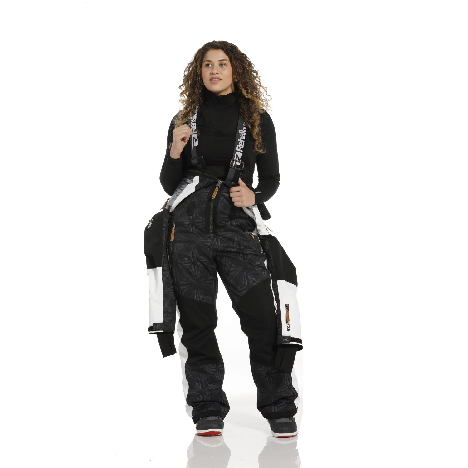 Rehall Suzanne-R Snowsuit Womens, Black, Gr. L