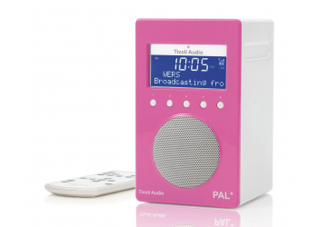 Tivoli Pal+ Pink/White Radio