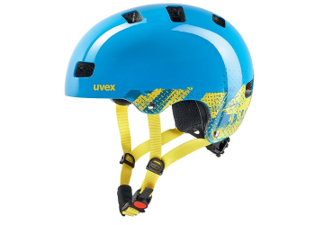 Uvex Kid 3 Blackout Blue Kinderhelm 55-58cm