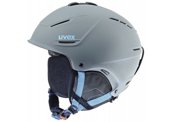 Uvex P1Us Skihelm Grey-Blue Mat 59-62