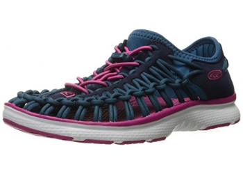 Keen Uneek O2 C-Dress Blues/Very Berry Kindersandalen