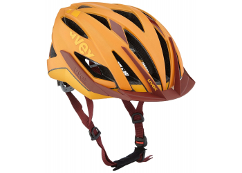 Uvex Ultra SNC Orange-Red Mat Helm