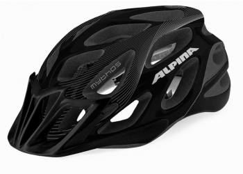 Alpina MYTHOS L.E. Helm Black/White Lines Matt