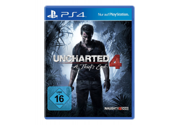 Uncharted 4 Sony PS 4 Konsolenspiel