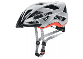 Uvex active cc silver-orange mat Helm