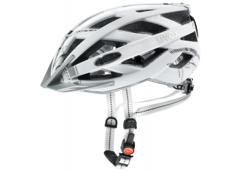 Uvex city i-vo dark silver mat Helm