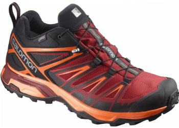 Salomon X ULTRA 3 GTX Bk/Red Dal/Sca Laufschuhe